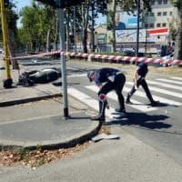 Milano, morto il carabiniere che aveva sbattuto contro un semaforo con la sua moto