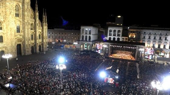 Milano, torna il concerto gratuito in piazza Duomo della Filarmonica della Scala: omaggio a Nino Rota