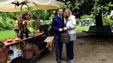 Orticola, la visita del sindaco Sala con la compagna Chiara Bazoli