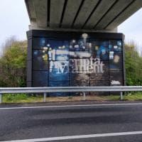 Bergamo, i cavalcavia si rifanno il look con le opere di street art