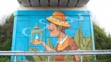 Bergamo, i cavalcavia si rifanno il look  con le opere di street art  di FRANCESCA ROBERTIELLO
