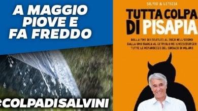 """Foto  """"Tutta colpa di"""": e Salvini copia la campagna social di Pisapia del 2011"""