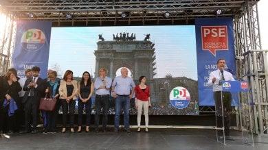 """Ultimo appello per le Europee, Zingaretti: """"Qui l'alternativa"""". Sala cita Martini ·   Video"""