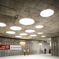 Dentro il cantiere della M4 a Linate: visita alla stazione del metrò Blu di Milano