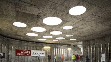 Foto  Dentro il cantiere della M4 a Linate: visita alla stazione del futuro metrò Blu