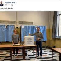 """Elezioni a Milano, l'augurio social di Beppe Sala: """"Buon voto a tutti"""""""