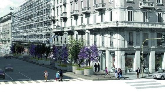 Milano, la via verde del Nord est: sei chilometri da San Babila a NoLo con 240 alberi