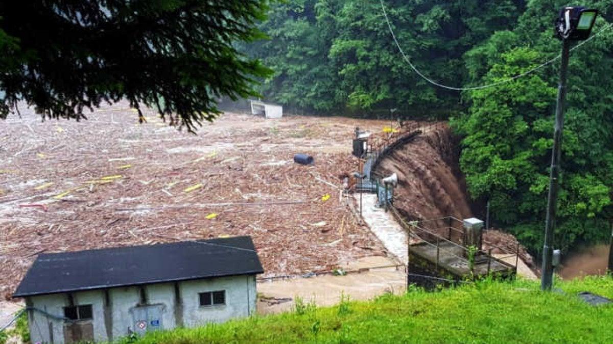 Esondazioni e frane, emergenza maltempo in Lombardia