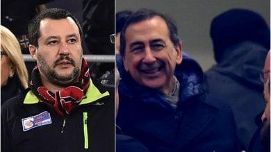 """Sala a Salvini per la festa della curva Inter ai giardini Montanelli: """"Ok se garantisce lui"""""""