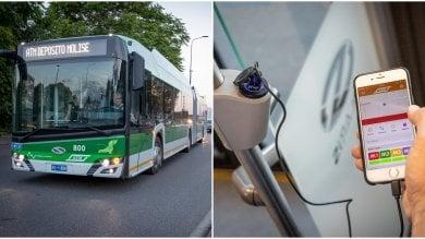 Ecco i filobus green e high tech: prese per smartphone e accessi comodi per i disabili