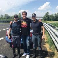 Hasselhoff, la star di Supercar 'fermata' dalla stradale a Cremona: ma gli agenti volevano una foto con lui