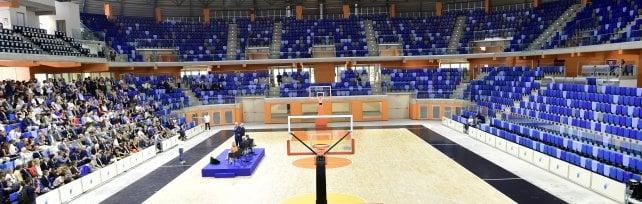 L'astronave atterra a Milano: si inaugura il nuovo Palalido per sport e concerti ·   Foto