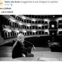 Morto Franco Zeffirelli, la Scala di Milano lo ricorda sulla sua pagina Facebook