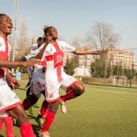 Milano, la squadra dei rifugiati che brilla sui campi di periferia