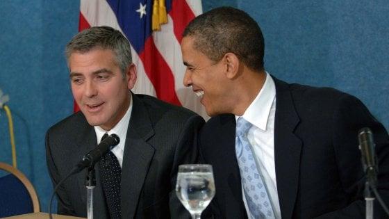 Lago di Como, la famiglia Obama ospite nella villa di Clooney: il paese è blindato