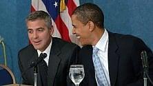 Como, Obama ospite nella villa di Clooney:  il paese è blindato