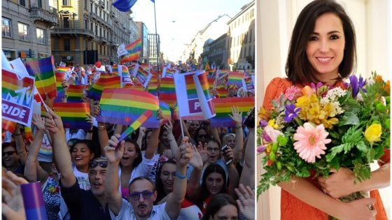 Milano, dopo le polemiche sui social non sarà Caterina Balivo la madrina del Pride