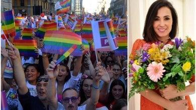 Milano, dopo le polemiche sui social  non sarà Balivo la madrina del Pride
