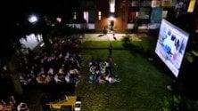 'Scendi c'è il cinema', a Milano tornano i film nei cortili condominiali