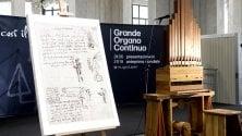 Prende vita il grande organo progettato  da Leonardo da Vinci