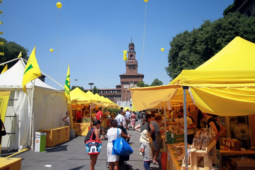 in 700 mila a Milano - Villaggio Coldiretti
