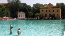 In piscina fino al tramonto: la Romano diventa 'sunset pool'