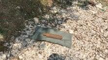 Bomba inglese della Prima Guerra mondiale trovata da un passante vicino al lago di Garda