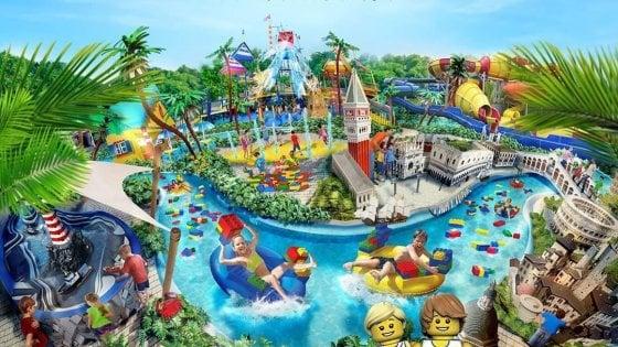 A Gardaland nasce il parco acquatico con i mattoncini Lego: sarà il primo in Europa