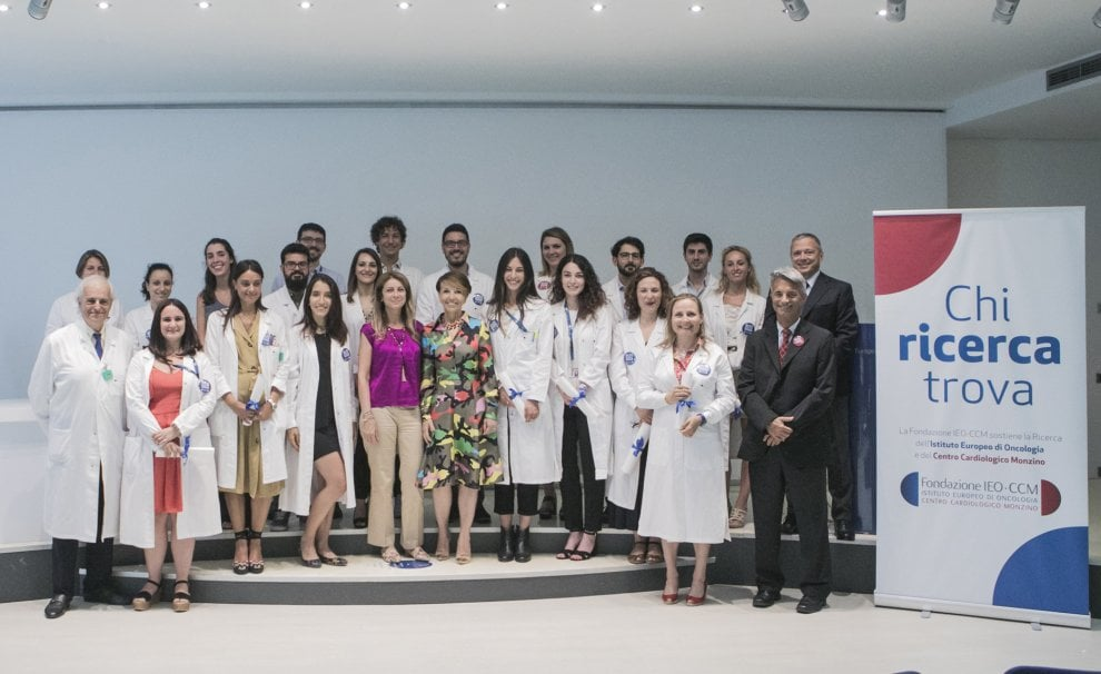Milano: lo IEO-CCM premia ventitré ricercatori. Ecco la nuova squadra contro cancro e cardiopatie