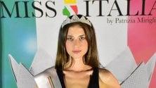 La 18enne Sofia reginetta di bellezza: vince la selezione per Miss Italia