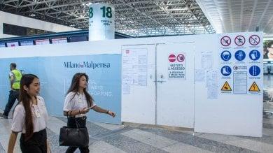 Foto  Malpensa si prepara al superlavoro per la chiusura di Linate: cantieri al terminal 1