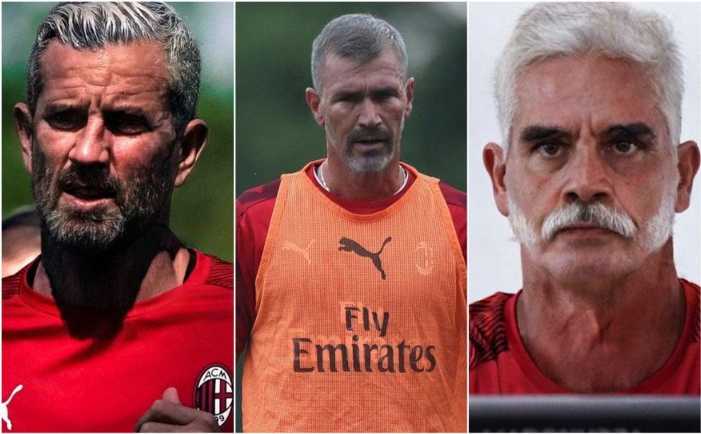 """""""Gli allenamenti ci distruggono"""": i giocatori del Milan postano le foto invecchiate con FaceApp"""