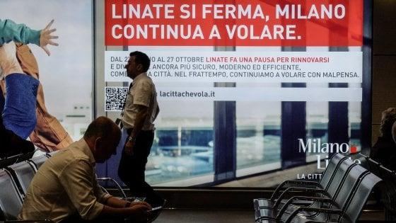 Linate chiude tre mesi per il mega restyling: voli spostati a Malpensa. Tutto quello che c'è da sapere