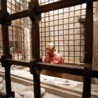 La cripta di San Sepolcro restaurata: svelati affreschi medievali mai visti