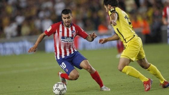 Milan, accordo con l'Atletico Madrid: in arrivo Correa per 50 milioni