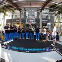 Basket, la Nazionale azzurra saluta i fan a Milano prima del Mondiale