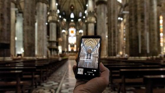 Il Duomo di Milano si visita con la App: il tour virtuale con lo smartphone
