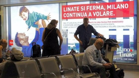 """Ultimo giorno di Linate tra sciopero e trasloco: da domani si vola su Malpensa. Sea: """"Arrivate tre ore prima"""""""
