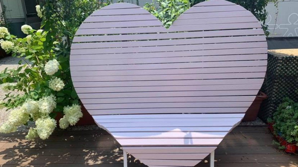 La Panchina Cuore Nel Giardino Delle Meraviglie Spazio Sensoriale