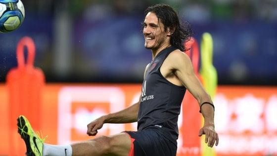 Prima l'Italia e poi la Cina, così l'Inter prova a convincere Cavani