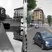 Milano com'era, Milano com'è: via de Amicis