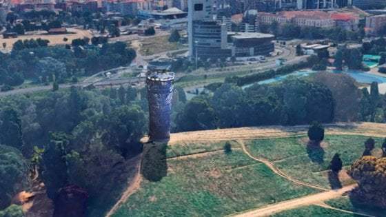 Milano, una maxi torcia per l'Olimpiade, la proposta corre sui social