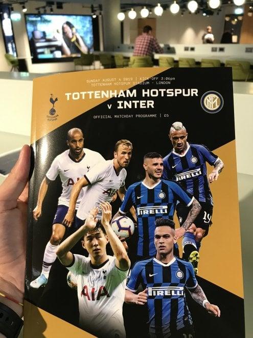 Londra, l'Inter vince contro il Tottenham che annunciava in campo Icardi e Nainggolan