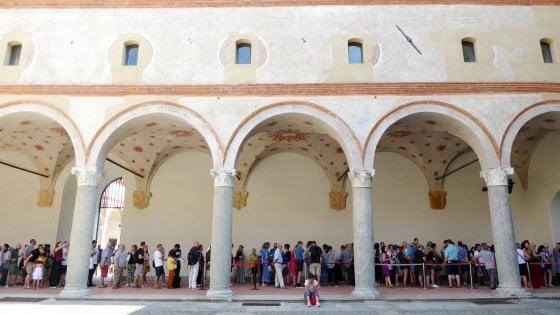 Un milione di turisti a Milano e a Ferragosto musei aperti