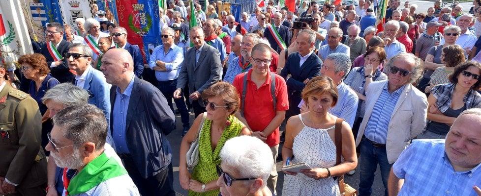 """Folla alla commemorazione dei partigiani martiri di piazzale Loreto. """"Preoccupa la deriva nazionalista e razzista"""""""