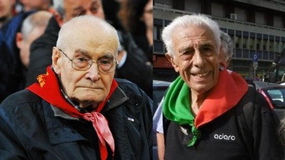 Addio a Gaspare Jean e Laerte Ruggieri, volti dell'antifascismo e della Resistenza milanesi