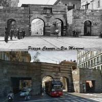 Milano com'era, Milano com'è: piazza Cavour e via Manzoni