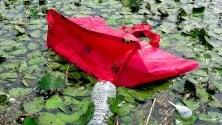 Plastica e rifiuti nel lago di Pusiano: i canoisti diventano spazzini