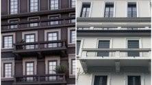 """Il palazzo è """"scolorito"""": il progetto in nero di via Farneti diventa bianco"""