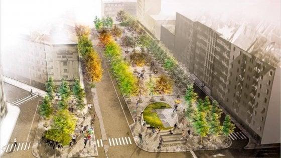 Milano, come sarà la 'nuova' piazza Sant'Agostino: alberi, panchine e restyling del mercato